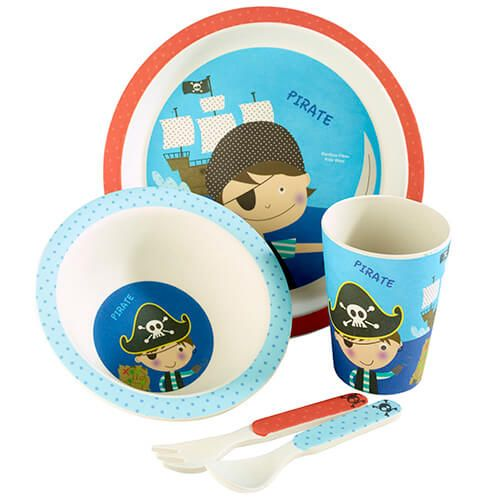 Arthur Price Bambino Pirate Bamboo Set