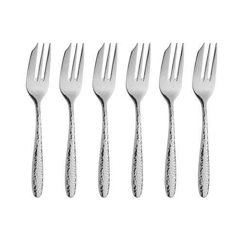 Arthur Price Monsoon Home Mirage 6 Pastry Forks Set