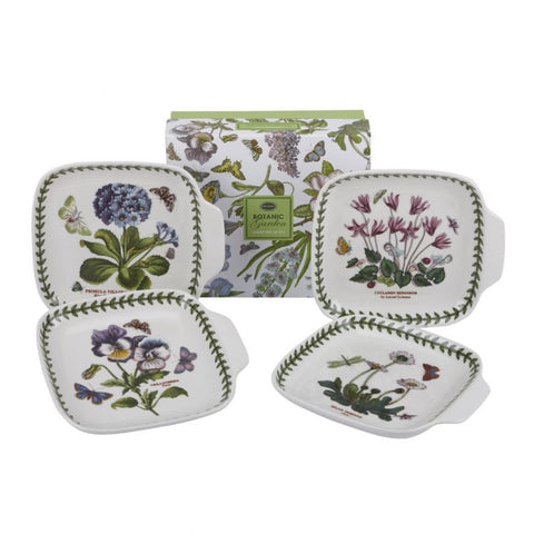 Botanic Garden Canape Dishes  ( Box set of 4 )