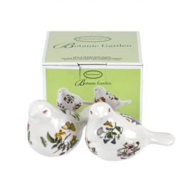 Botanic Garden Salt & Pepper Set - Figural Birds