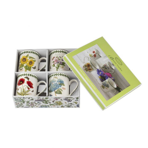 Botanic Garden Gift Box Set of 4 Mugs