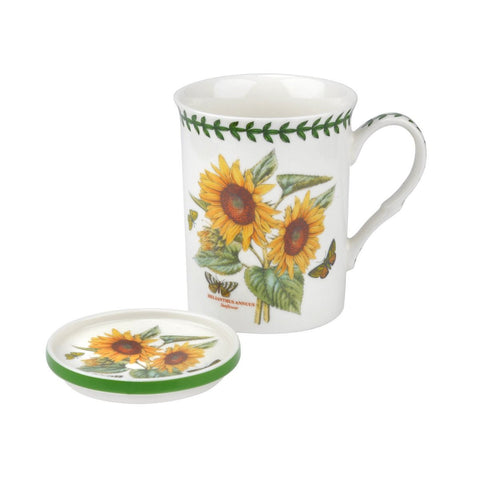 Botanic Garden Mug & Coaster Set - Sunflower