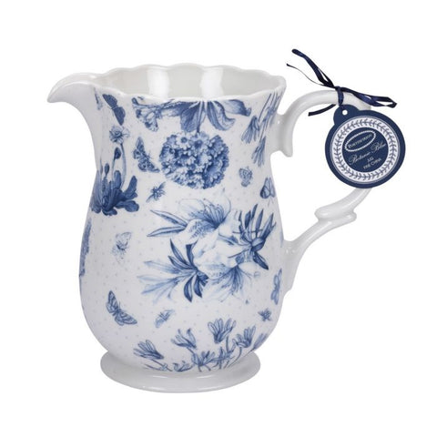 Botanic Blue Large Jug / Pitcher