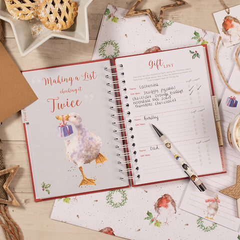 Wrendale Christmas Planner Book