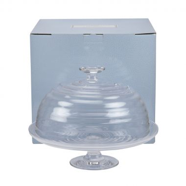 Sophie Conran Glass Footed Cake Stand & Dome