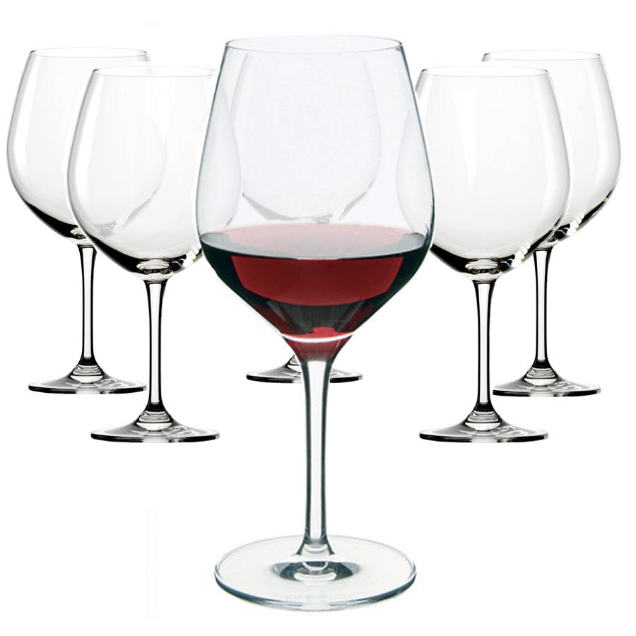 Dartington Crystal Six - Red Wine Glass ( Box set of 6 )