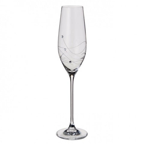 Dartington Crystal Glitz Flute - Set of 2