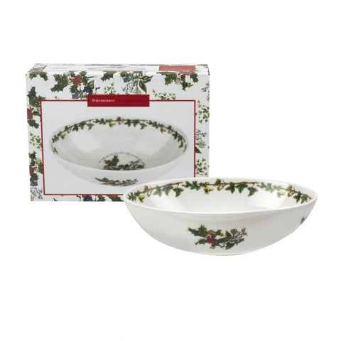 The Holly & the Ivy Deep Oval Bowl 23cm / 9""