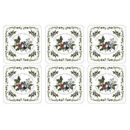 The Holly & The Ivy Coasters S/6 (s)