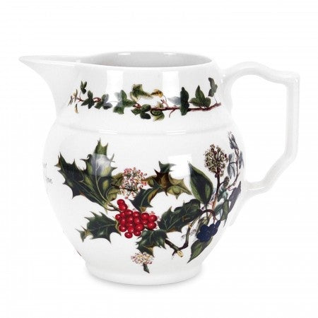The Holly & the Ivy Staffordshire Jug  0.60L / 1pt