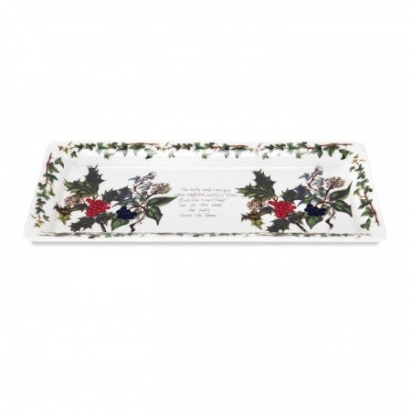 The Holly & the Ivy Sandwich Tray