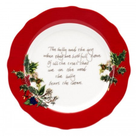 The Holly & the Ivy Tea Plate 16cm / 6.25""