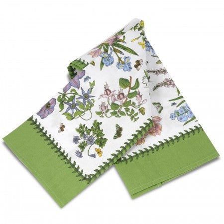 Botanic Garden Chintz Tea Towel
