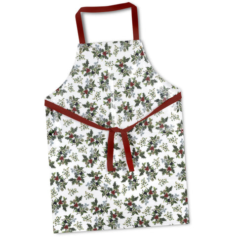 The Holly & the Ivy PVC Coated Apron