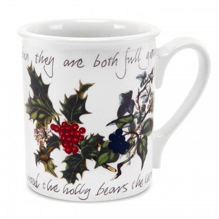 The Holly & the Ivy Breakfast Mug