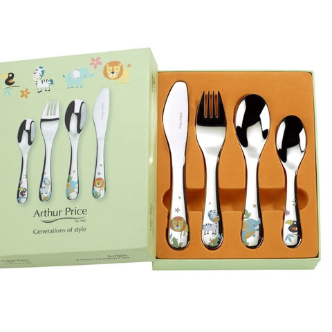 Arthur Price Jungle 4 Piece Child Set