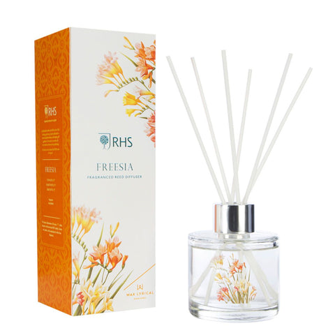 Wax Lyrical RHS Reed Diffuser 100ml Freesia