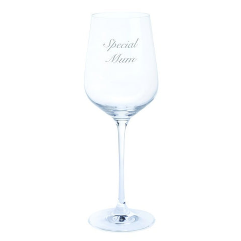 Dartington Crystal Just for You - Special Mum Wine Glass