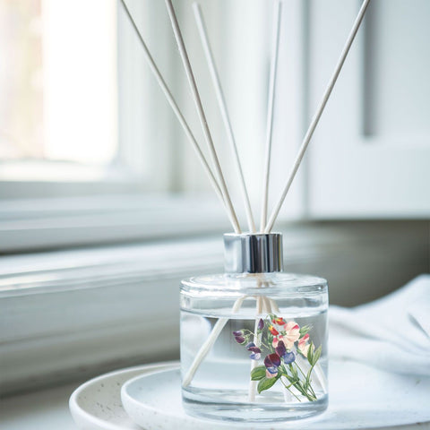 Wax Lyrical RHS Reed Diffuser 100ml Sweet Pea