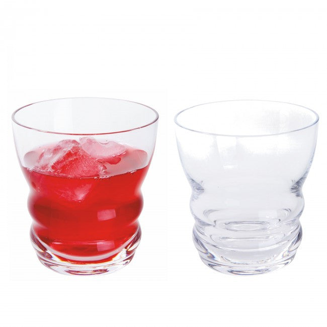 Dartington Crystal Wibble Juice Glass Box Set of 2