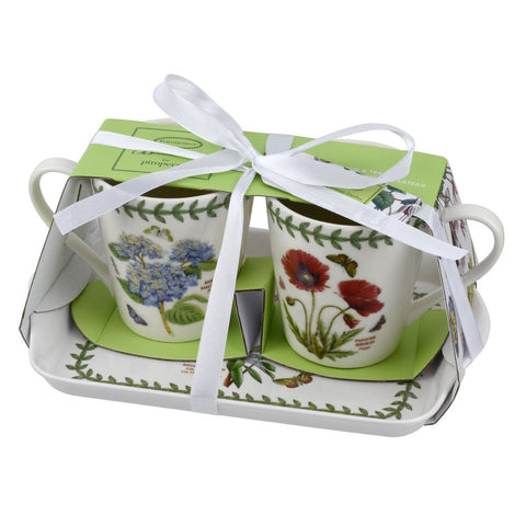 Botanic Garden Mini Mugs & Tray Set