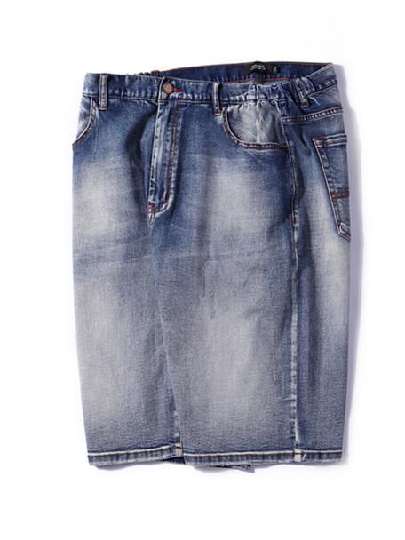 Men's Fashion Trend Straight Denim Shorts