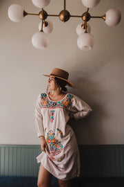 Long Sleeved Market Dress