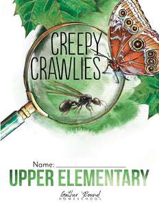 Creepy Crawlies Student Notebook (Hard Copy)