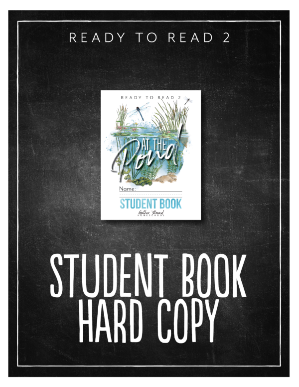 Ready to Read 2: At the Pond Student Notebook (HARD COPY)