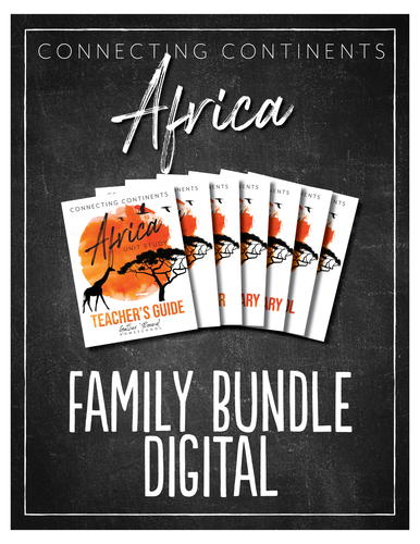 Africa Family Bundle (DIGITAL)