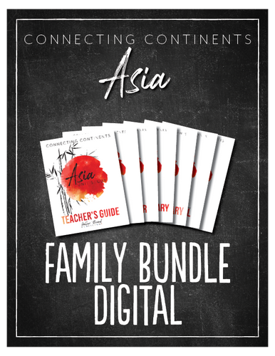 Asia  Family Bundle (Digital)