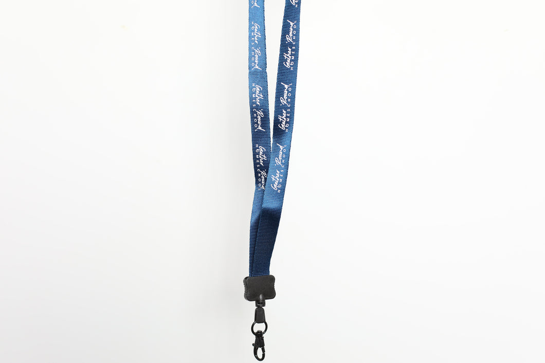 Nylon Gather 'Round Lanyard