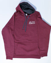 Load image into Gallery viewer, Gather 'Round Vintage Hoodie XXL (Cardinal Heather)