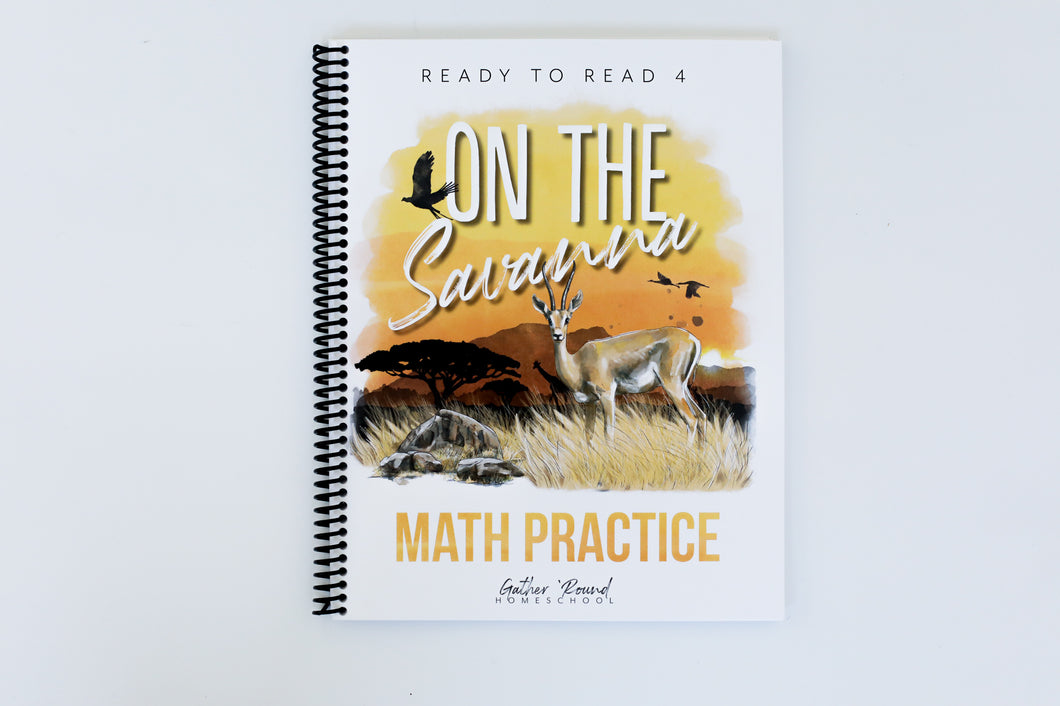 Ready to Read 4: On the Savanna Math Practice (DIGITAL)