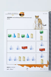Ready to Read 4: On the Savanna Math Practice Book (HARD COPY)