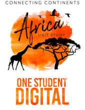 Load image into Gallery viewer, Africa 1 Student (DIGITAL) Bundle