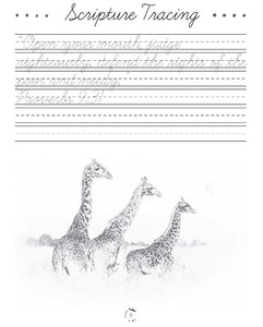 Africa Cursive Writing Book (DIGITAL)