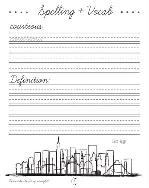Africa Cursive Writing Book (HARD COPY)