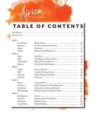 Load image into Gallery viewer, Africa Recipe Book (DIGITAL)