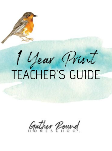 Teacher's Guide 1 Year PRINT Bundle