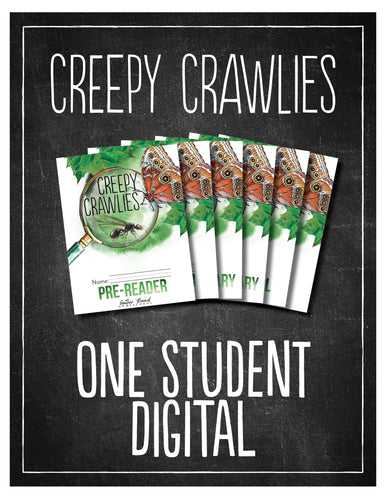 Creepy Crawlies 1 Student Bundle (Digital)