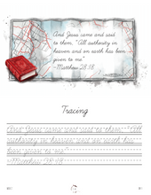 Load image into Gallery viewer, Transportation Cursive Writing Notebook (HARD COPY)