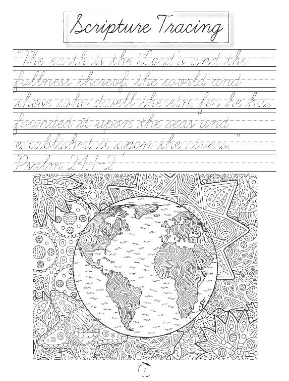 Earth Science Cursive Writing Book (HARD COPY)