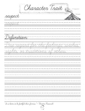 Load image into Gallery viewer, Earth Science Cursive Writing Notebook (HARD COPY)