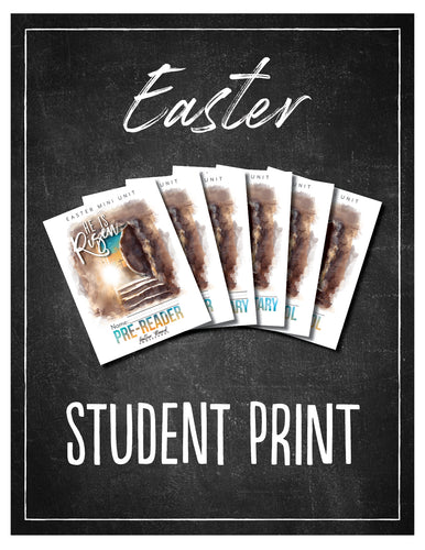Easter Student Notebook (HARD COPY)