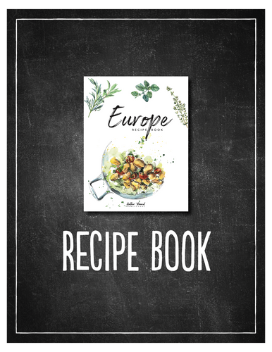 Europe Recipe Book (DIGITAL)