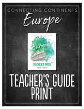 Load image into Gallery viewer, Europe Teacher's Guide (HARD COPY)