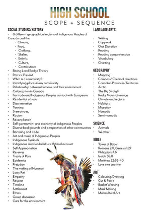 Indigenous Peoples Mini Unit Student Notebooks (HARD COPY)