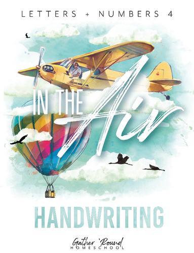 Letters + Numbers 4: In the Air Handwriting Book (HARD COPY)