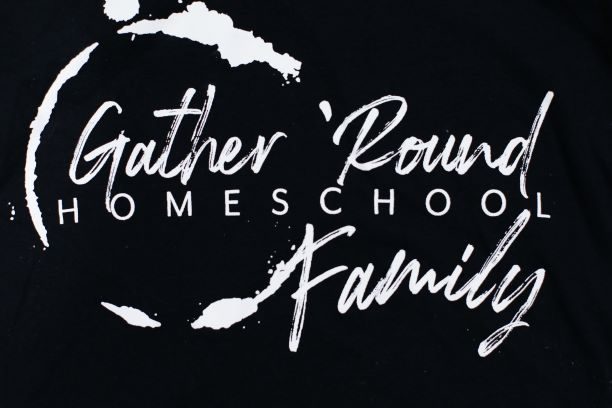 Gather 'Round Long Sleeve Shirt in Black